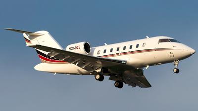 N216QS - Bombardier CL-600-2B16 Challenger 650 - NetJets Aviation