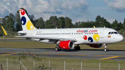 A picture of HK5327 - Airbus A320214 - Viva Air - © Jorge Saenz