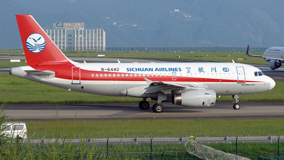 A picture of B6442 - Airbus A319133 - Sichuan Airlines - © BCG554