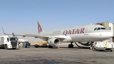 A7-LAD - Airbus A320-214 - Qatar Airways