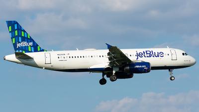 N624JB - Airbus A320-232 - jetBlue Airways
