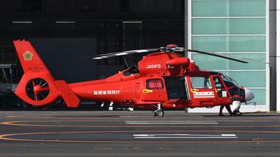 JA01FD - Aérospatiale SA 365N3 Dauphin 2 - Japan - Tokyo Fire Department (Kyoto City Fire Brigade)
