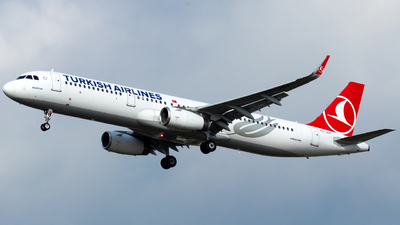 A picture of TCJSY - Airbus A321231 - Turkish Airlines - © Grzesiek Wilczewski