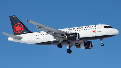A picture of CGARG - Airbus A319114 - Air Canada - © Kevin Leinweber