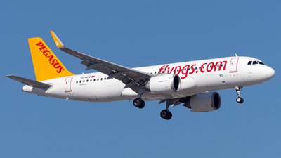 A picture of TCNCM - Airbus A320251N - Pegasus Airlines - © Turkay Oksuz