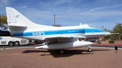 N401FS - Douglas A-4C Skyhawk - Flight Systems