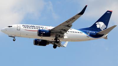 XA-CYM - Boeing 737-752 - Aeroméxico