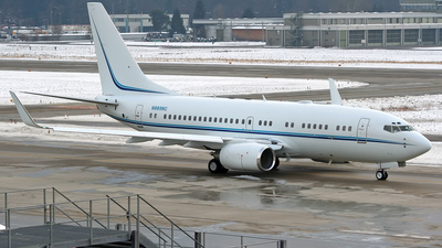 N889NC - Boeing 737-7AV(BBJ) - Private
