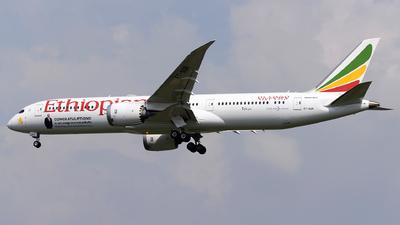 ET-AUR - Boeing 787-9 Dreamliner - Ethiopian Airlines