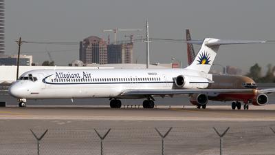 N860GA - McDonnell Douglas MD-83 - Allegiant Air