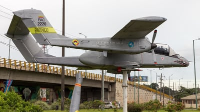 FAC2220 - North American OV-10A Bronco - Colombia - Air Force
