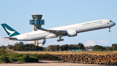 A picture of BLXJ - Airbus A3501041 - Cathay Pacific - © JLW Aviation