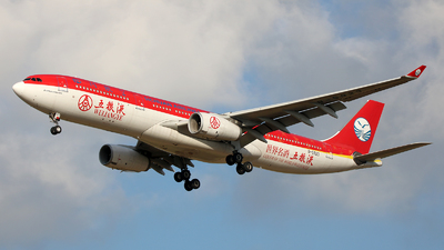 A picture of B5923 - Airbus A330343 - Sichuan Airlines - © Michael Sender