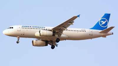 ZS-GAS - Airbus A320-231 - Jubba Airways