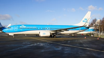 A picture of PHBCA - Boeing 7378K2 - KLM - © C. v. Grinsven