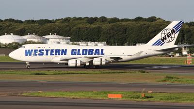 N356KD - Boeing 747-446(BCF) - Western Global Airlines