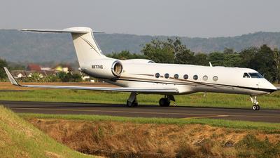 A picture of N977HS - Gulfstream G550 - [5385] - © @yasirfajri