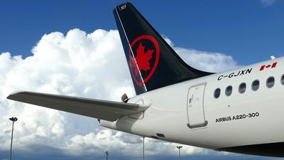 C-GJXN - Airbus A220-371 - Air Canada