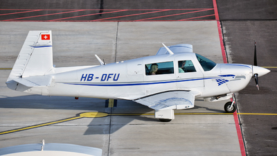 HB-DFU - Mooney M20J-201 - Private