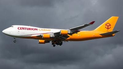 N902AR - Boeing 747-428ERF - Centurion Air Cargo
