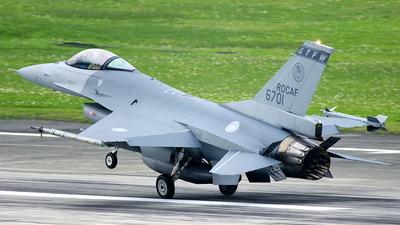 6701 - General Dynamics F-16A Fighting Falcon - Taiwan - Air Force