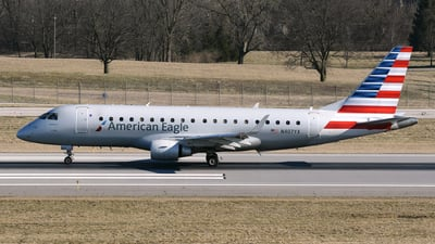 A picture of N407YX - Embraer E175LR - American Airlines - © DJ Reed - OPShots Photo Team