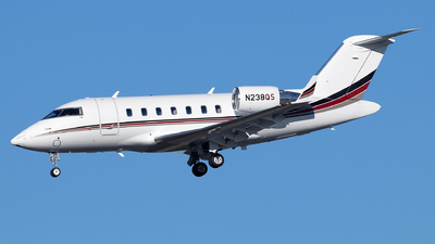 A picture of N238QS - Bombardier Challenger 650 - NetJets - © Sandra