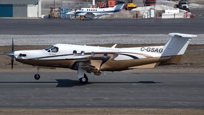 C-GSAG - Pilatus PC-12/45 - Private