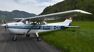 A picture of HBCXZ - Cessna F172N Skyhawk - [1630] - © Mirko Bleuer