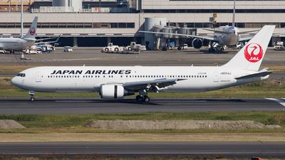 JA654J - Boeing 767-346(ER) - Japan Airlines (JAL)