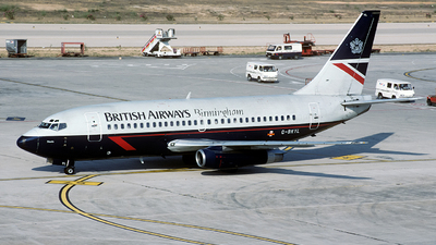 G-BKYL - Boeing 737-236(Adv) - British Airways