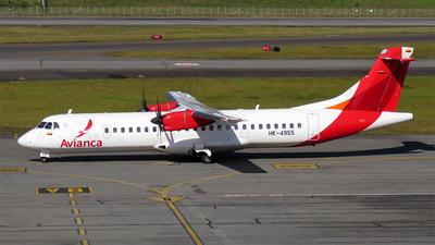 HK-4955 - ATR 72-212A(600) - Avianca
