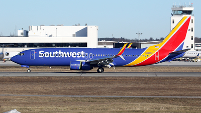 N8555Z - Boeing 737-8H4 - Southwest Airlines