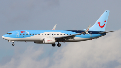 A picture of DATUR - Boeing 7378K5 - TUI fly - © Justin Stöckel