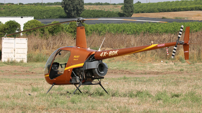 4X-BDK - Robinson R22 Beta II - Private