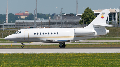 A picture of HBIAW - Dassault Falcon 2000 - [16] - © Thomas Ernst