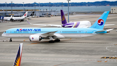 HL8345 - Boeing 787-9 Dreamliner - Korean Air