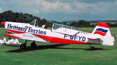 F-GFYD - Zlin 526F - Private