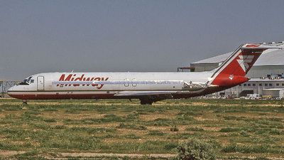 N947ML - McDonnell Douglas DC-9-32 - Midway Airlines