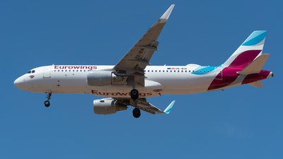 A picture of OEIEW - Airbus A320214 - Eurowings - © Stefan Thomas