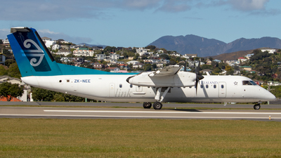 ZK-NEE - Bombardier Dash 8-Q311 - Air New Zealand