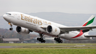 A picture of A6EWA - Boeing 77721H(LR) - Emirates - © Kyle McKinlay