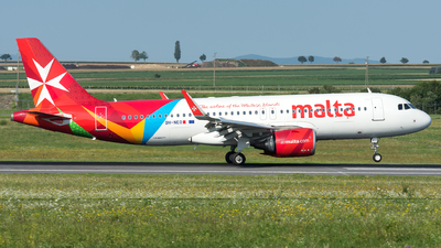 A picture of 9HNEO - Airbus A320251N - Air Malta - © Gerhard Zant