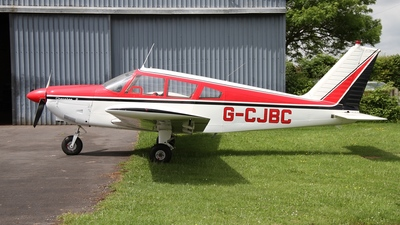 G-CJBC - Piper PA-28-180 Cherokee D - Private