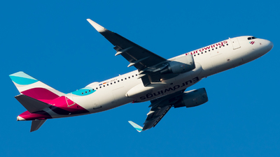 A picture of DAIZV - Airbus A320214 - Eurowings - © Michael E.