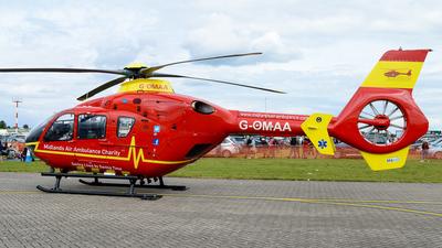 G-OMAA - Eurocopter EC 135T2+ - Midlands Air Ambulance