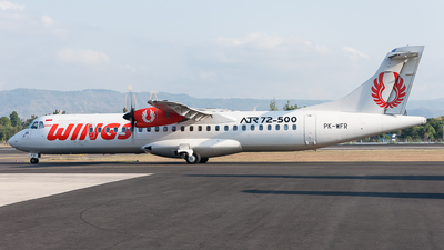 PK-WFR - ATR 72-212A(500) - Wings Air