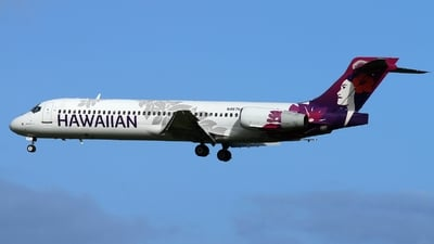 A picture of N487HA - Boeing 71722A - Hawaiian Airlines - © AL-Alan Lebeda