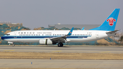 A picture of B1582 - Boeing 73781B - China Southern Airlines - © Eric Wang