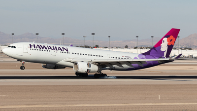 A picture of N393HA - Airbus A330243 - Hawaiian Airlines - © Anthony Cistolo
